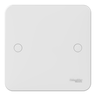LWM 1 gang blank plate