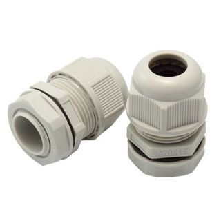 20mm PVC Gland 8-14mm IP68