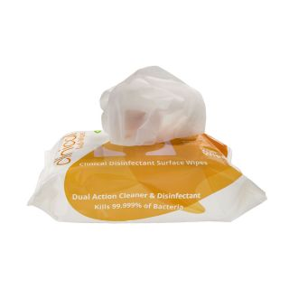 Uniwipe Clinical Disinfectant Midi Wipes Pack/200