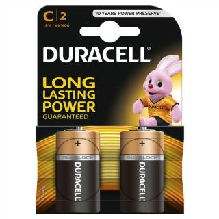 Duracell Battery C Card 2