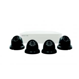 4 Camera Kit CCTV Unit Dome Cameras