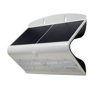 SOL 6.8W Solar LED Wall light with PIR IP65 White 4000K