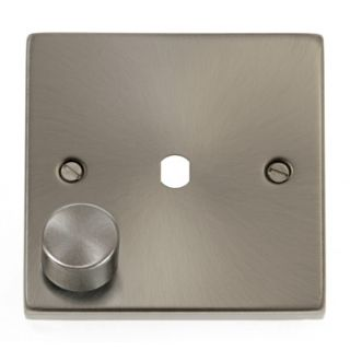Click Deco 1 Gang Dimmer Plate Rotary Type
