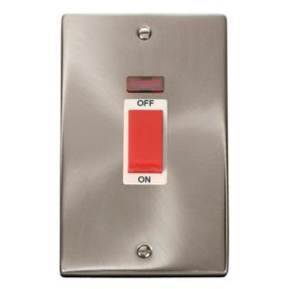 Click Deco 45a 2g Cooker Switch Neon Whi I