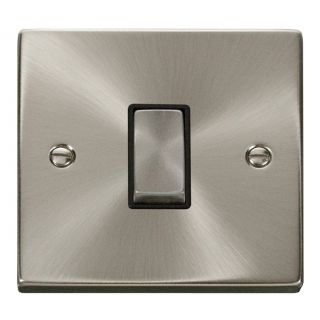 Click Deco Inter Ingot Switch Blk Int Sc