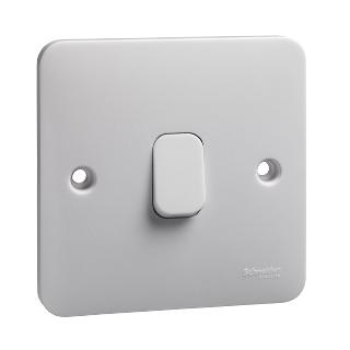 LWM 1 gang intermediate 10AX plate switch