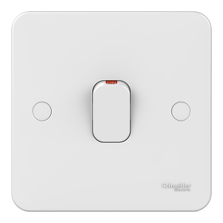 LWM 20AX DP plate switch + LED