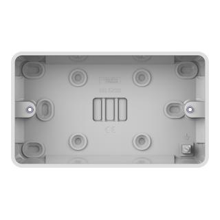 LWM 2G 25mm Surface Pattress Box