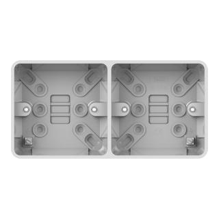LWM 2G 25mm Dual Surface Pattress Box