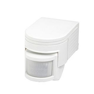 MOTION DETECTOR 180°, 10 seconds 10 minutes, IP44, White