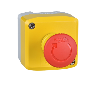 EMERGENCY STOP COMPLETE PUSHBUTTON.