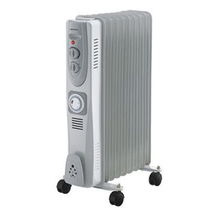 9Fin 2KW Oil filled Radiator with Timer