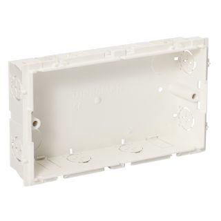 Thorsman - CYB-D30 mounting box double - white
