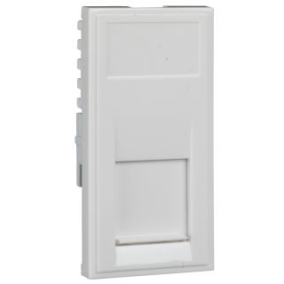 Ultimate Slimline - telephone socket - RJ11 - white