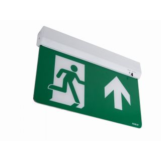 SWISS 1.5W Maintained Emergency Exit Blade Light, Standard, with multiple mounting options