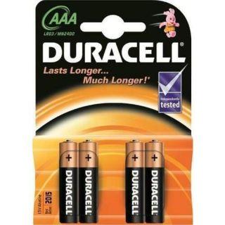 Duracell Battery AAA Card 4