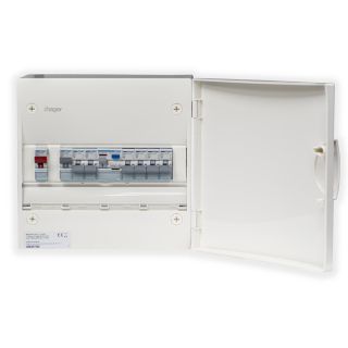 1ROW CONSUMER UNIT WITH 63A MCB