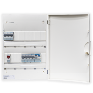 2ROW CONSUMER UNIT WITH 63A MCB